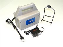 External battery for Zooka pitching machine in Alamogordo, New Mexico