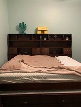 Full Bed w/Twin Trundle, Chest Dresser and Nightstand in Camp Lejeune, North Carolina
