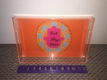 New!  Acrylic Tray with Colorful Graphic in Chicago, Illinois