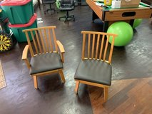 2 solid chairs in Okinawa, Japan