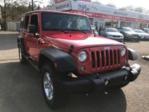2014 Jeep Wrangler Unlimited Sport 4×4 in Spangdahlem, Germany