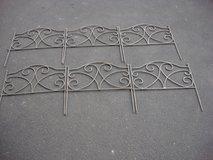"SIX 18 "" WIDE  SECTIONS OF DECORATIVE FENCE in St. Charles, Illinois"