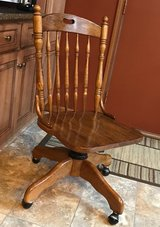 Wood Desk Chair in Westmont, Illinois