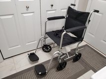 Transport chair / wheel chair in Chicago, Illinois
