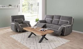 United Furniture - Recliner Set Ixelles as shown inc. del. - with Loveseat added $2120... in Wiesbaden, GE