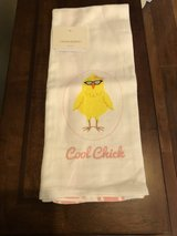 """New """"Cool Chick"""" Kitchen Towel - Cynthia Rowley - New with Tags in St. Charles, Illinois"""