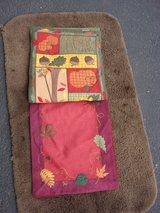 """TWO NEW 36 """" X 18 """" FALL  TABLE RUNNERS in Bartlett, Illinois"""