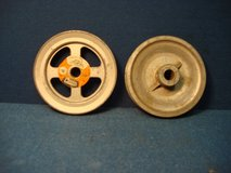 """PAIR OF 4 """" DIAMETER  V-GROVE PULLEYS in Naperville, Illinois"""