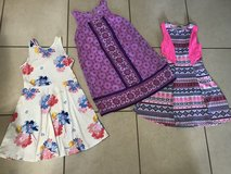 Lot of 10 Girl Size 10/12 Dresses Some Never Worn EUC in Travis AFB, California
