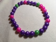 Pop Beads New Necklace Two Bracelets Purple Pink Green Blue image 1 Pop Beads New Necklace Two B... in Kingwood, Texas