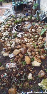 Landscaping River Rocks in The Woodlands, Texas