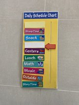Daily Schedule Chart in Okinawa, Japan