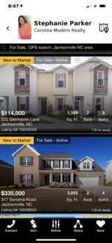 Coolest Home Search App in Camp Lejeune, North Carolina