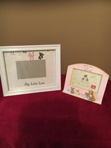 (2) Baby Girl Picture Frames in Macon, Georgia