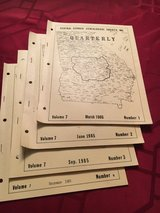 1985 Central GA Genealogical Society Quarterly set of (4) in Macon, Georgia