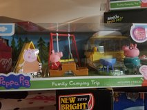 Peppa pig family camping trip new in Joliet, Illinois