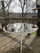 Smokey Glass top Patio Table in Fort Leonard Wood, Missouri