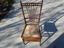 Antique Needle Point Chair in Sandwich, Illinois