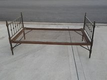 Antique Collapsible Bed Frame in Chicago, Illinois