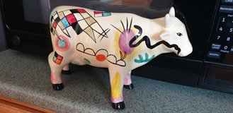 Piggy bank COW in Fort Drum, New York
