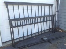 King Wrought Iron Bed in Chicago, Illinois
