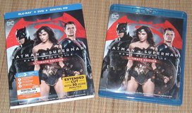 Batman v Superman Dawn of Justice Ultimate Edition 3-Disc Blu-Ray + DVD + Digital HD in Chicago, Illinois