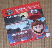 Super Mario Odyssey Kingdom Adventures Hard Cover Book in Morris, Illinois
