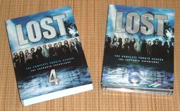 Lost Season 4 The Expanded Experience DVD 6 Disc Box Set in Yorkville, Illinois