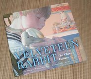 Velveteen Rabbit Classic Edition Over Sized Hard Cover Book w Dust Jacket in Yorkville, Illinois