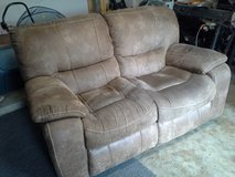 Clean/Presentable. Real Leather, Love Seat in Kingwood, Texas