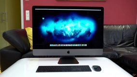 "Apple iMac Pro 27"" 5K SSD 68GB 4TB i7 Space Grey color computer in Kingwood, Texas"