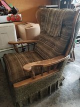 Chair in Fort Lewis, Washington
