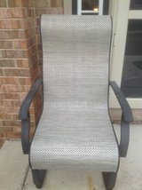 Pair of outdoor chairs/rocker in Bolingbrook, Illinois