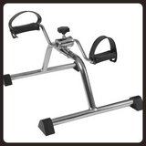 ** DRIVE Lightweight Mini Pedal Exerciser/Leg and Arm Exerciser/Color Dark Silver** in Okinawa, Japan