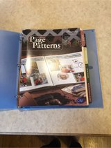 creative memories page patterns organizer & 7 tabs of layout ideas in Morris, Illinois
