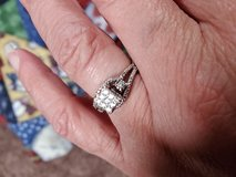 Diamond Ring sz 6 in Clarksville, Tennessee