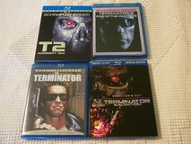 TERMINATOR BLU RAY 4 MOVIES in Naperville, Illinois