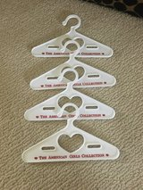 American Girl Doll Clothes Hangers - Set/4 White in Westmont, Illinois