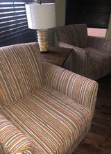 Like New Custom Fabric Swivel Chair in Phoenix, Arizona