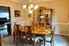Dining Room Set with China Cabinet in Joliet, Illinois