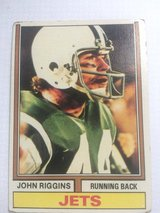1974 John Riggins Football card in Stuttgart, GE