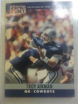 1989 Rookie card - Troy Aikman in Stuttgart, GE