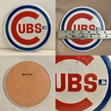 Vintage Chicago Cubs sports pin in Naperville, Illinois