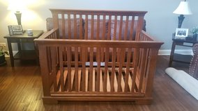 Wood Crib in Naperville, Illinois