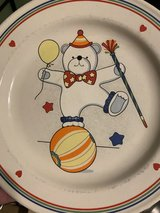 Vintage plate in Fort Campbell, Kentucky