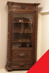Freddy's - Louis XIII bookcase in Spangdahlem, Germany