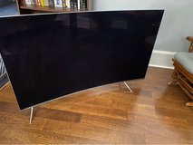 """Samsung 65"""" Curved SUHD TV for someone who repairs TVs in Houston, Texas"""