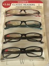 4 New Pairs of Women's Reading Glasses 3.00 in Bolingbrook, Illinois
