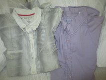 Men's Express and Guess button down shirts in Westmont, Illinois