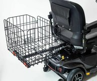 Folding Rear Basket Accessory for Pride Mobility Scooter in Camp Pendleton, California
